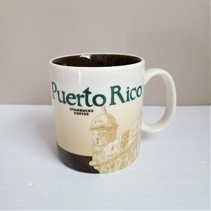 Starbucks Puerto Rico Global Icon City Mug.